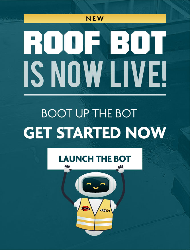 Roof Bot is live!