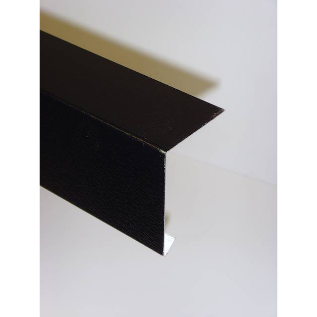 Black Metal Edge Trim 2500mm